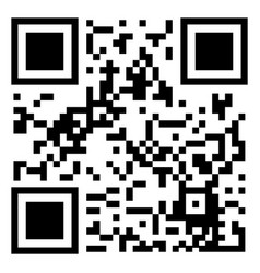gray qr code icon isolated on background modern f vector image