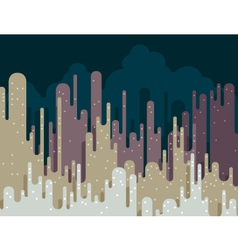 Abstract cityscape vector image vector image
