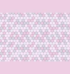 Abstract minimal hexagonal pattern design soft vector