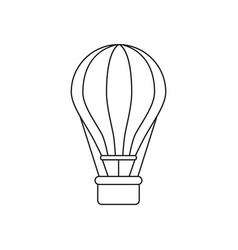 ballon of icon vector image