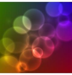 Blurred Lights vector image