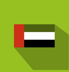 flag of united arab emirates united arab emirates vector image