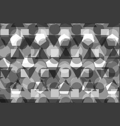 geometric background - gray vector image