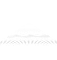halftone square perspective background abstract vector image