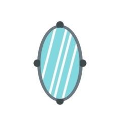 Mirror icon flat style vector