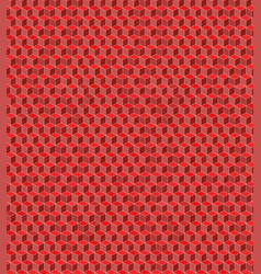 Seamless cube pattern for background vector
