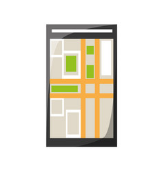 smartphone app technology vector image