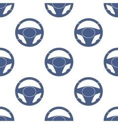 Steering Wheels Seamless Pattern vector image