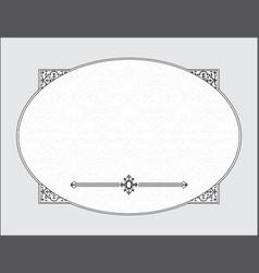 Wedding template frame vector