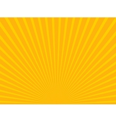 Yellow abstract sun rays Eps 10 vector