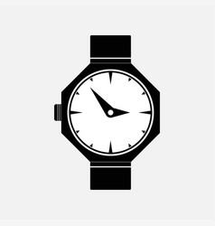 icon watches marking time vector image vector image