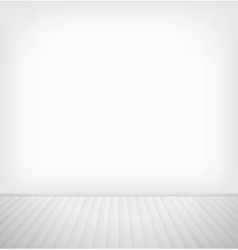 Empty room vector image