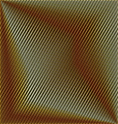 Golden stripe background vector image vector image