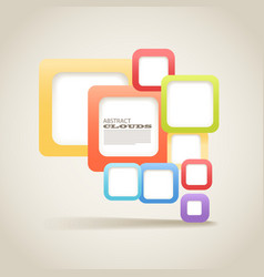 abstract blocks vector image