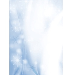 Blue abstract Christmas background vector image