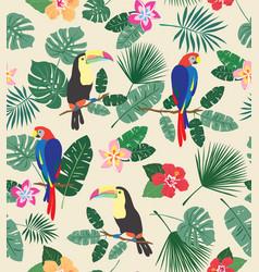 busy tropics vector image