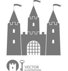Castle vector image