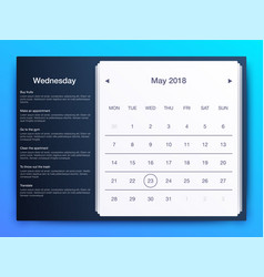 dashboard infographic template with modern design vector image