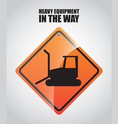 Heavy equipment vector