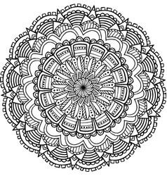 mandala 5 image vector image