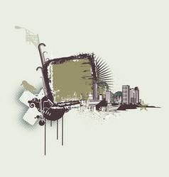 Urban frame vector