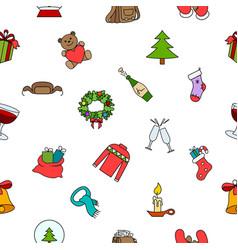 Warm clothes vector image
