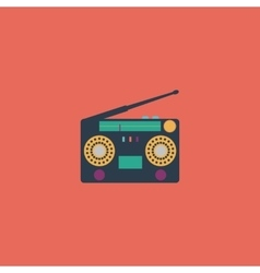 Classic 80s boombox vector image