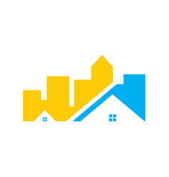 buildings real estate vector image vector image
