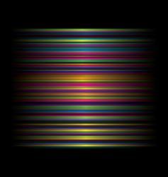 candy rainbow cross vector image vector image