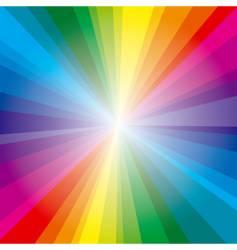 spectrum rays background vector image