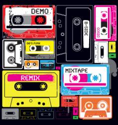 wall of sound vector image vector image