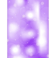 Bright purple christmas background vector