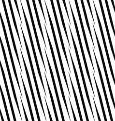 Seamless monochrome angular line pattern vector image