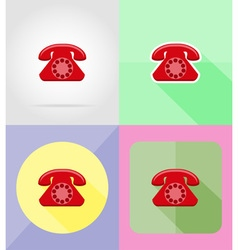 Service flat icons 14 vector