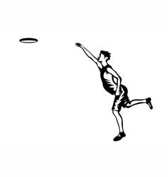 frisbee vector image vector image