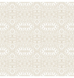seamless light ornamental geometrical background vector image