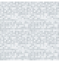 Abstract grayscale pixelated seamless pattern vector image