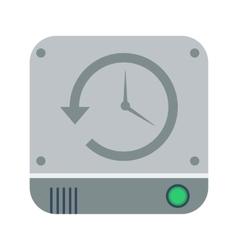 Backup icon vector