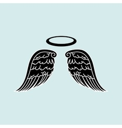 Beautiful angel design vector