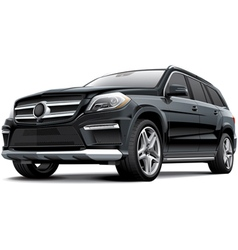 Germany full size luxury suv vector