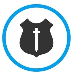 Guard Shield Icon vector image