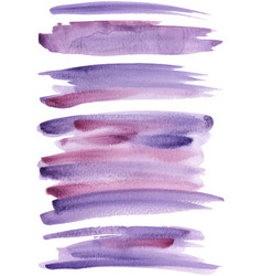 violet paint strokes vector image