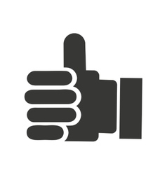 hand like isolated icon design vector image