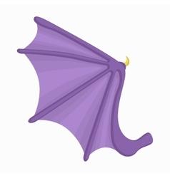Bat wing icon cartoon style vector image vector image