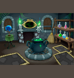 witch room vector image