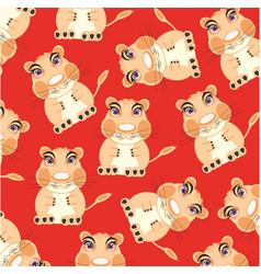 Animal hamster pattern vector