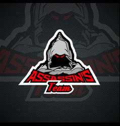 Assassins team logo templare vector