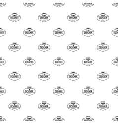 designer pattern seamless vector image