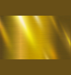 gold metal texture background vector image