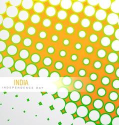 Indian tri color vector
